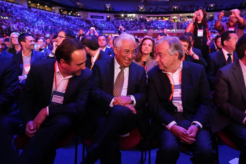 39aa28ee3ccc Costa diz que Web Summit coloca Lisboa no coração do debate sobre os  desafios globais - Cultura - Correio da Manhã