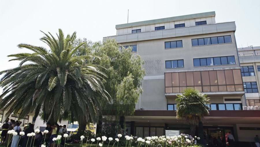 O hospital São Francisco Xavier, em Lisboa