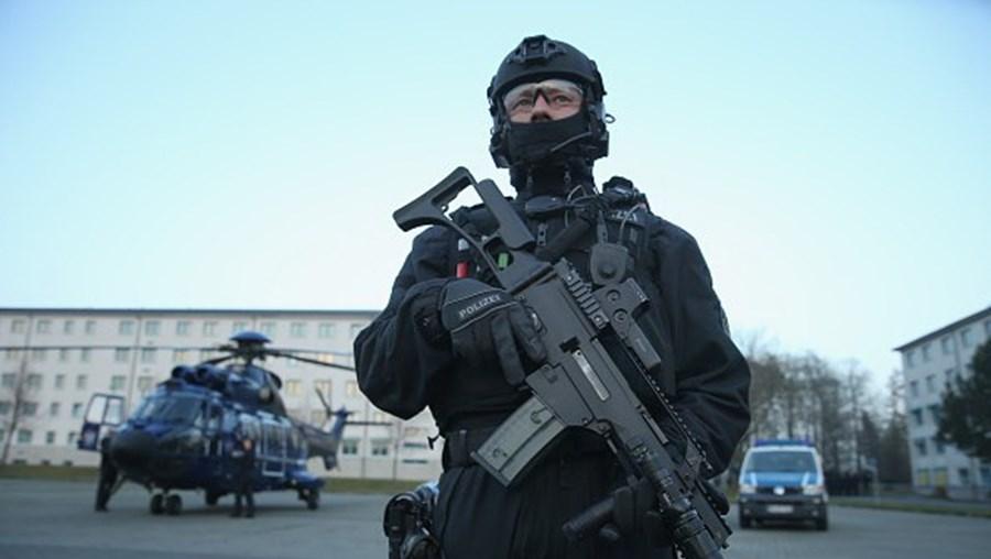 Polícia anti-terrorismo