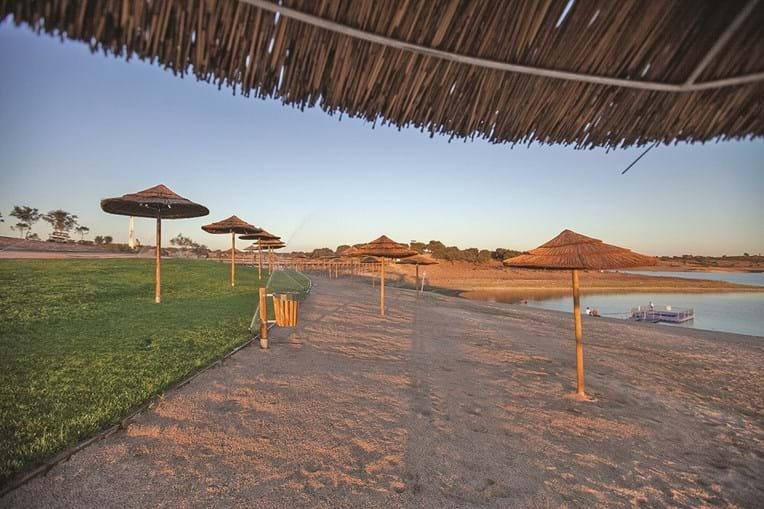A Praia de Mourão é a maior do lago de Alqueva. Abriu em julho