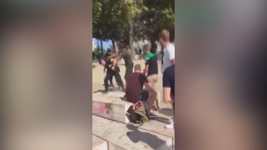 PSP agredido