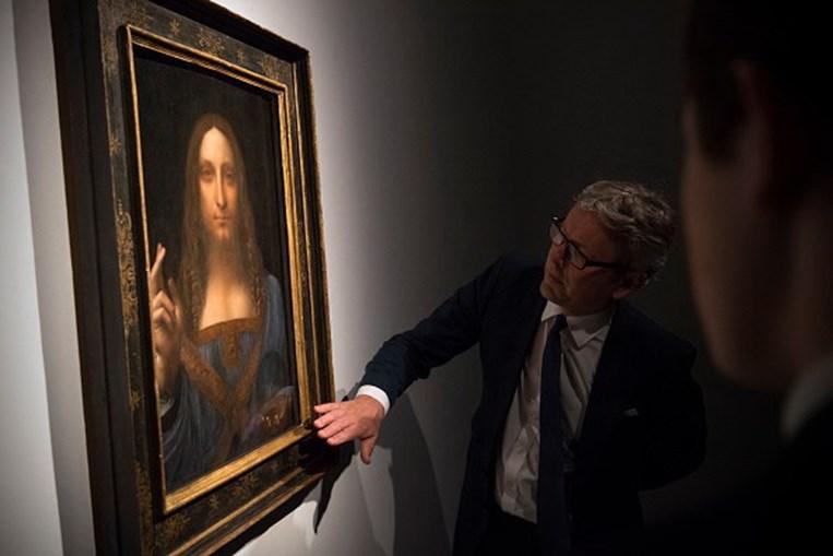 Salvator Mundi, pintura de Leonardo da Vinci,