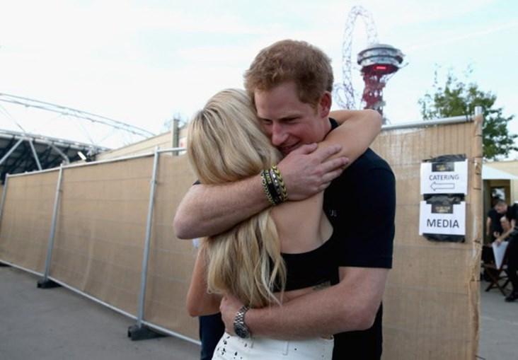 Príncipe Harry e Ellie Goulding