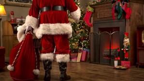 """Pai Natal mantém a magia e revela prenda mais pedida: que o """"bicho"""" da Covid-19 desapareça"""