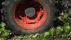 Despiste de trator agrícola faz um morto em Trancoso