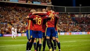 Espanha goleia Alemanha em jogo da Liga das Nações