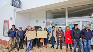 Protesto contra fecho da Segurança Social