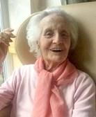 Ruby tinha acabado de celebrar os 75 anos de casada com o marido, Leslie