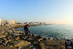 A praia do Furadouro é das mais conhecidas