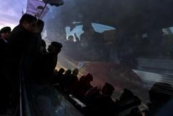 Funeral do paraquedista, ontem, em Lobão da Beira, Tondela