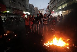 Protestos anti Trump após decisão de reconhecer Jerusalém como capital de Israel