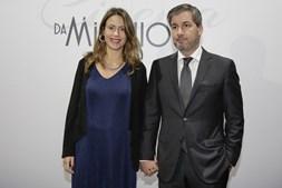 Bruno de Carvalho e a mulher