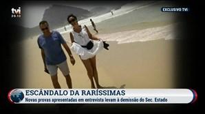 TVI revela imagem de casal que será Manuel Delgado e Paula Brito e Costa
