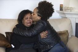Maria Odete Rocha,   avó paterna, procura as netas  portuguesas há cerca de 20 anos
