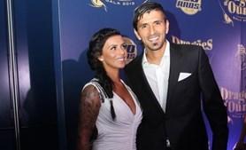 Andreia Marques e o antigo jogador do FC Porto, Lucho