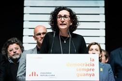 Esquerda Republicana da Catalunha reage aos resultados das eleições na Catalunha