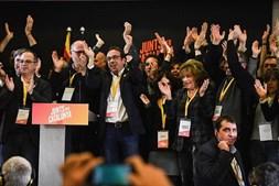 Junts Per Catalunya reagem aos resultados das eleições na Catalunha
