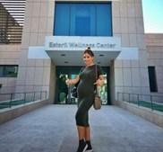 Luciana Abreu durante a gravidez