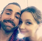 Luciana Abreu e Daniel Souza