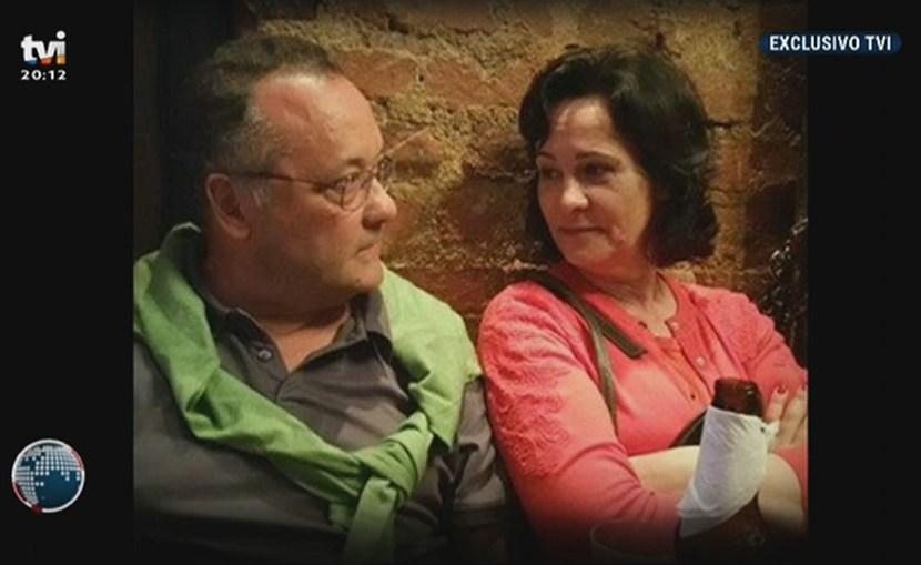 Imagens mostram grande proximidade entre Manuel Delgado e Paula Brito e Costa