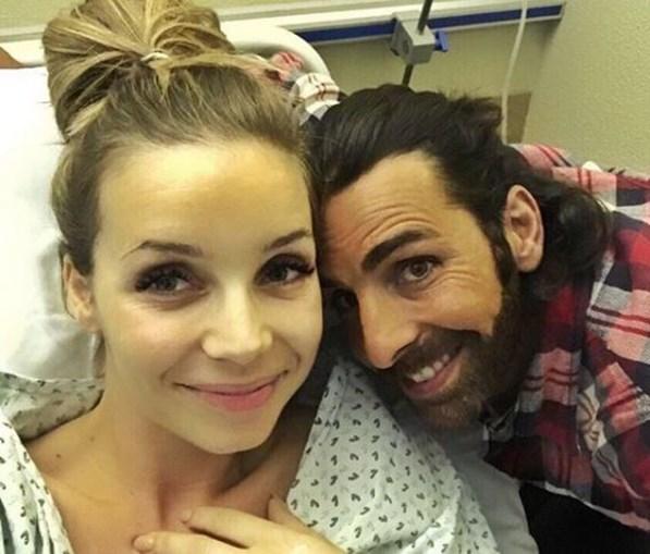 Luciana Abreu e o marido Daniel