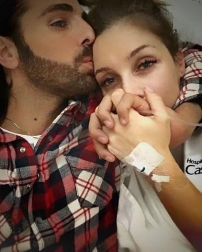 Luciana Abreu e o marido