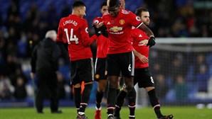 Manchester United de Mourinho volta às vitórias após três empates