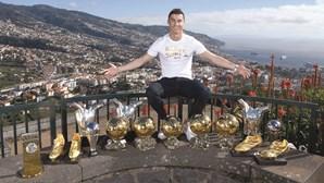 Família de Ronaldo celebra na Madeira