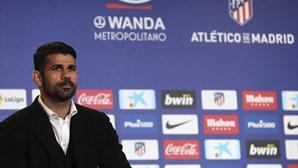 Diego Costa prestes a voltar ao relvados pelo Atlético de Madrid