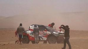 André Villas-Boas sofre acidente e desiste do rali Dakar
