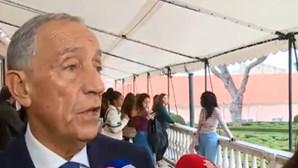 Presidente da República recorda com saudade pioneira da Eurovisão