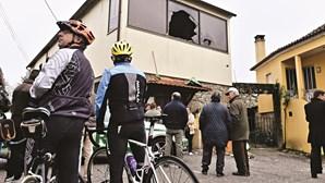 Casa de vítima de Tondela assaltada durante funeral