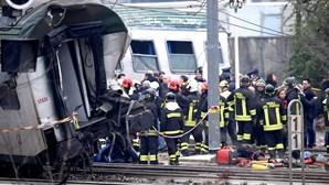 Marcelo envia condolências ao homólogo italiano por vítimas de descarrilamento de comboio