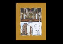 Imagem de um selo que faz parte da emissão de auto-adesivos