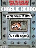 Mais recente capa do jornal satírico Charlie Hebdo.