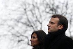 Presidente francês esteve presente nas homenagens às vítimas do atentado no Charlie Hebdo