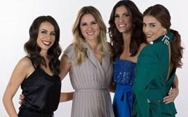As apresentadoras do Festival Eurovisão da Canção