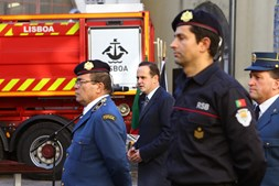 Cerimónia de entrega de equipamentos de Proteção Individual ao Regimento de Sapadores Bombeiros de Lisboa