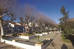 Imagem da zona histórica da vila de Miranda do Corvo