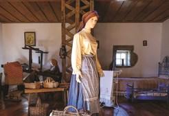 Vila tem um museu etnográfico. Fica em Nespereira