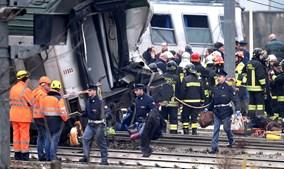 Descarrilamento de comboio faz três mortos em Milão
