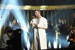 Sam Smith cantou 'Pray'