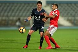 Belenenses e Benfica jogaram esta segunda-feira no Restelo