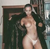 Kim Kardashian partilha fotos polémicas no Instagram