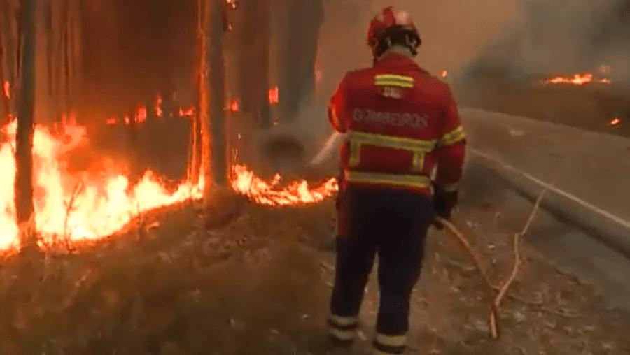 Combate a fogos florestais