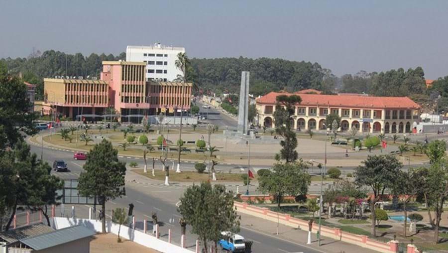 Cidade do Huambo, em Angola