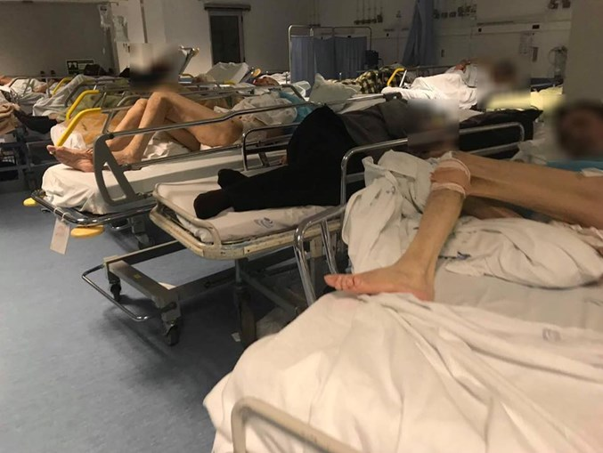 Caos nas urgências em Faro