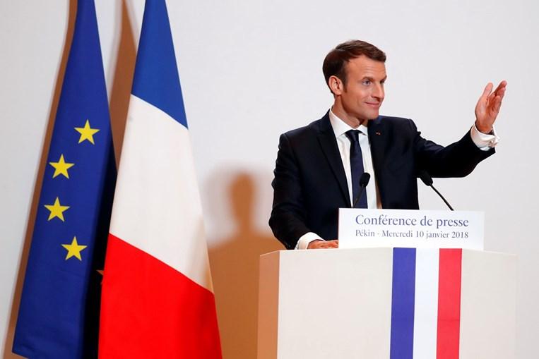 Macron refere-se a mulher do primeiro-ministro australiano como 'deliciosa'