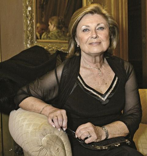 Madalena Iglésias fotografada em 2014, por ocasião da Gala dos 50 anos da RTP