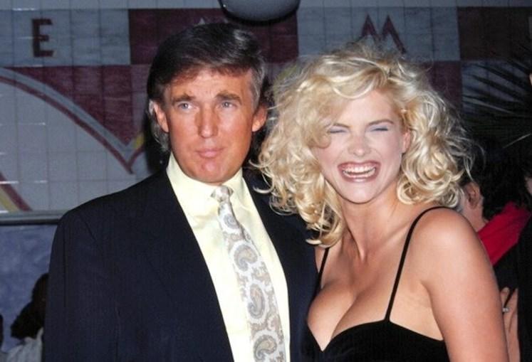 Anna Nicole Smith terá mantido uma relação com Donald Trump